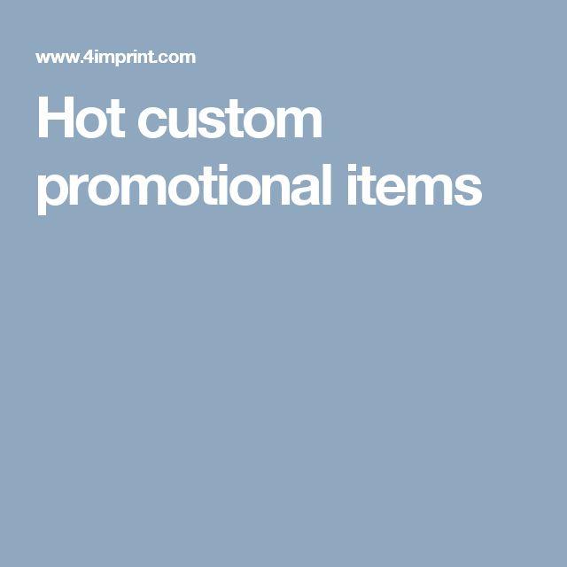 Hot custom promotional items