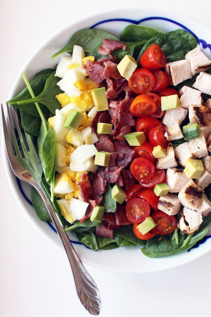Pin for Later: This 370-Calorie Cobb Salad Will Be Your New Favorite Lunch