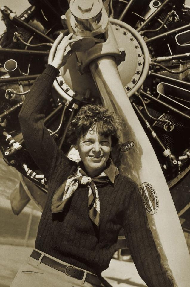 Amelia Earhart, a heroic character no one will forget. Her adventurous spirit matched a fashionable figure. She is definitely an icon to look up to, and be inspired by.