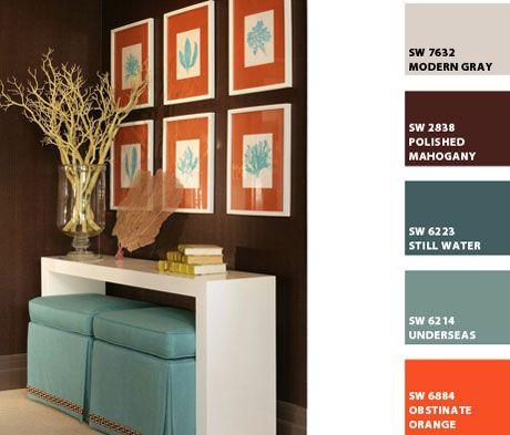 interior design orange county - 1000+ images about olor Scheme: urquoise, Orange & Beige on ...