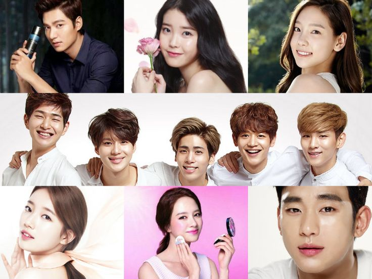 From K-Pop Idols to Actors: The Many Faces of Korean Cosmetics