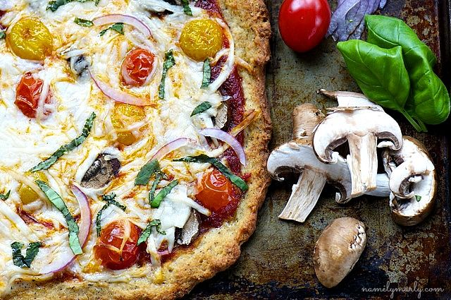 GLUTEN-FREE VEGAN PIZZA WITH HERB-INFUSED QUINOA (Part 3) 1 tablespoon olive oil  1 teaspoon ground, dried sage  1 teaspoon ground, dried thyme  1/2 teaspoon ground, dried fennel seeds  1/2 teaspoon ground, dried turmeric  Dash of ground sea salt