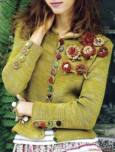 shabby chic..sweater