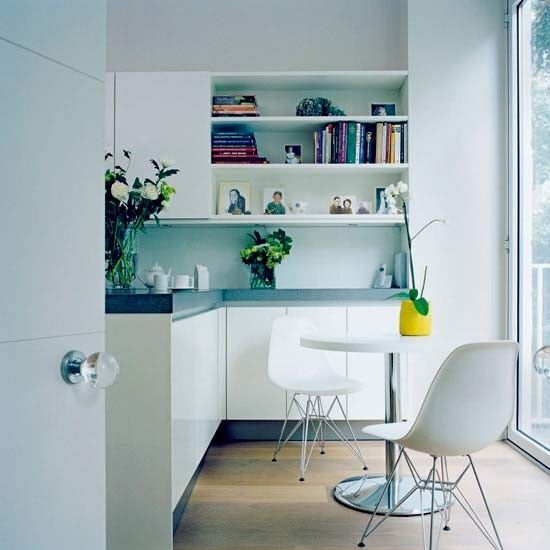 Minimalist kitchen-diner | Kitchen-diners | Dining ideas | Image | housetohome.co.uk