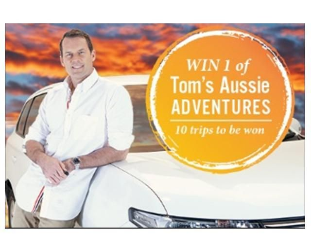 'Tom's Aussie Adventures'  Join Choice Privileges today and you'll go into the draw to win one of Tom's Aussie Adventure. Join Now!! http://www.choicehotels.com.au/en/choice-privileges
