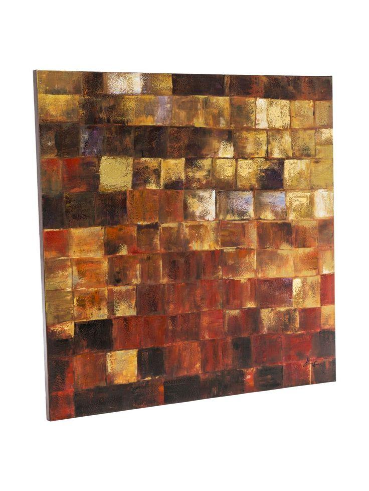 Bild Golden Mosaic, Modern Jetzt bestellen unter: https://moebel.ladendirekt.de/dekoration/bilder-und-rahmen/bilder/?uid=55e08558-8c49-55d8-8ff5-df6d1f431689&utm_source=pinterest&utm_medium=pin&utm_campaign=boards #barock #bilder #stile #rahmen #miavilla #dekoration