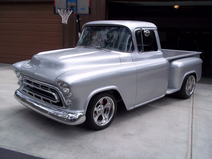 1957 chevy pickup | this 1957 chevy pickup truck was brought to us after several failed ...