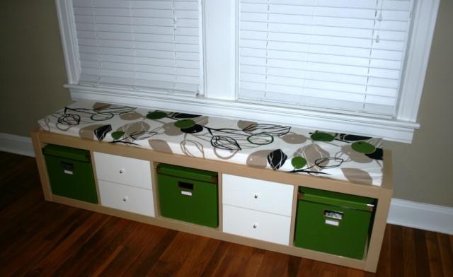 Versatile storage starts with ikea expedit mattress for Ikea expedit storage bench
