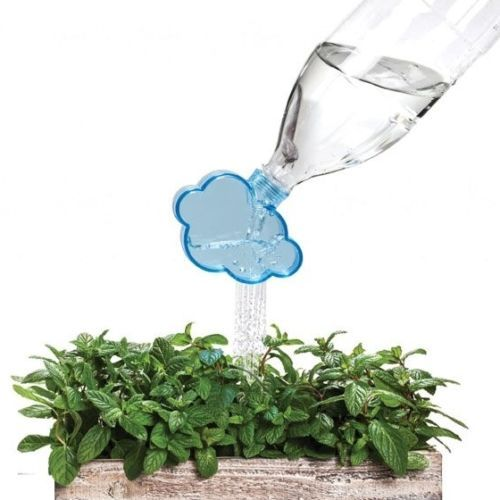 it's a cool gadget and really cheap! great gift :) Funky-Watering-Yard-Plant-Garden-Gifts-Design-Cloud-Cola-Bottles-Rainmaker-Peleg