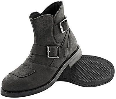 Speed and Strength Women's Motorcycle Leather Boots