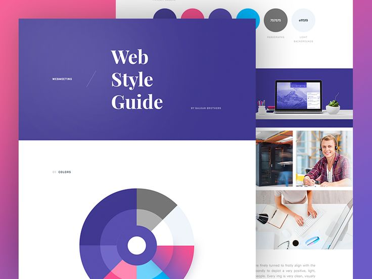 Ui Kit for WebMeeting by Balkan Brothers