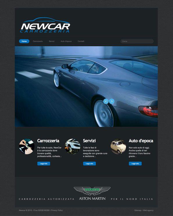 Newcar - Sito internet BtoC #web #design #car #automotive