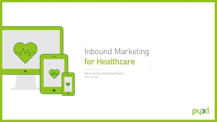 Learn how healthcare organizations can use inbound marketing to attract, convert, close and delight their target audiences.