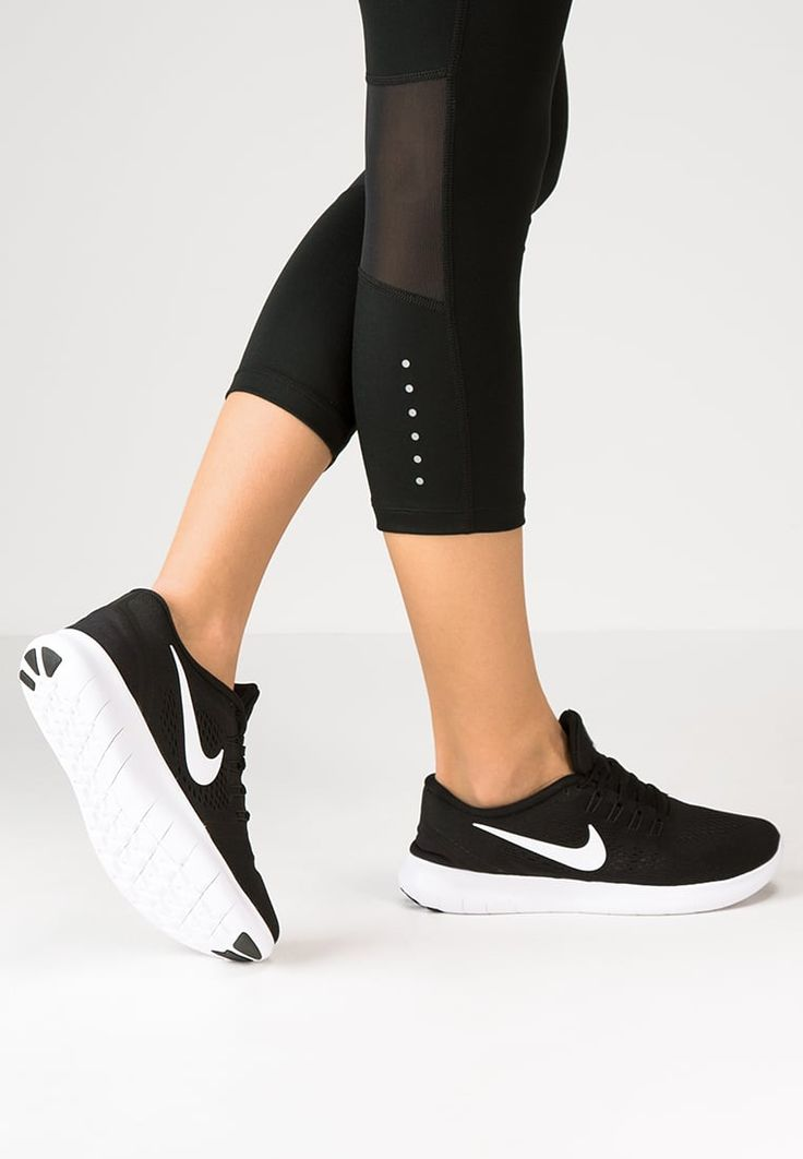 Dames Nike Performance FREE RUN - Loopschoen neutraal - black/white/anthracite Zwart: € 119,95 Bij Zalando (op 17-6-16). Gratis bezorging & retournering, snelle levering en veilig betalen!