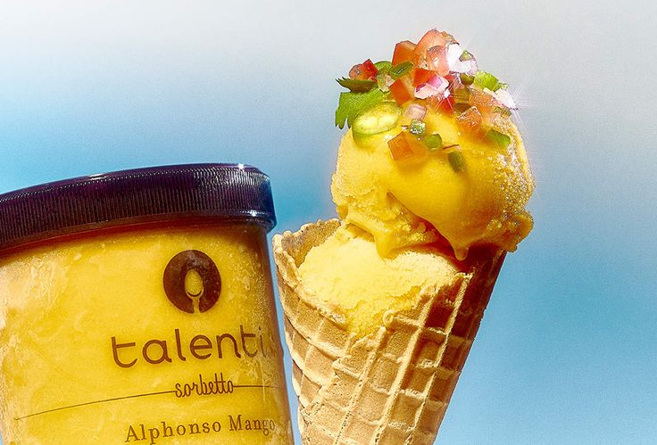 Talenti flavor combinations with unusual toppings