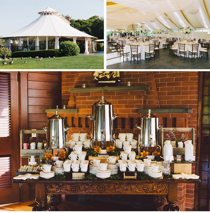 Our muse 1920 39 s inspired outdoor wedding be inspired for Coffee bar at wedding reception