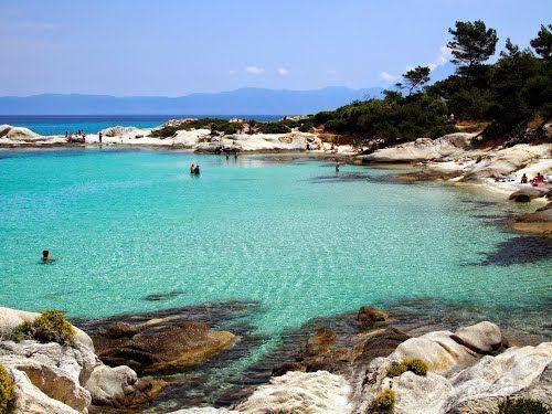 Orange Beaches - #Greece #Chalkidiki #Sarti