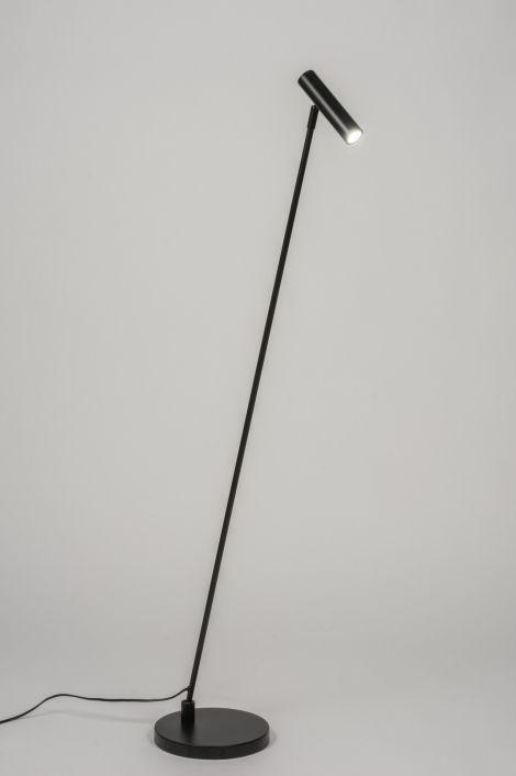 vloerlamp 10560: modern, design, staal , rvs