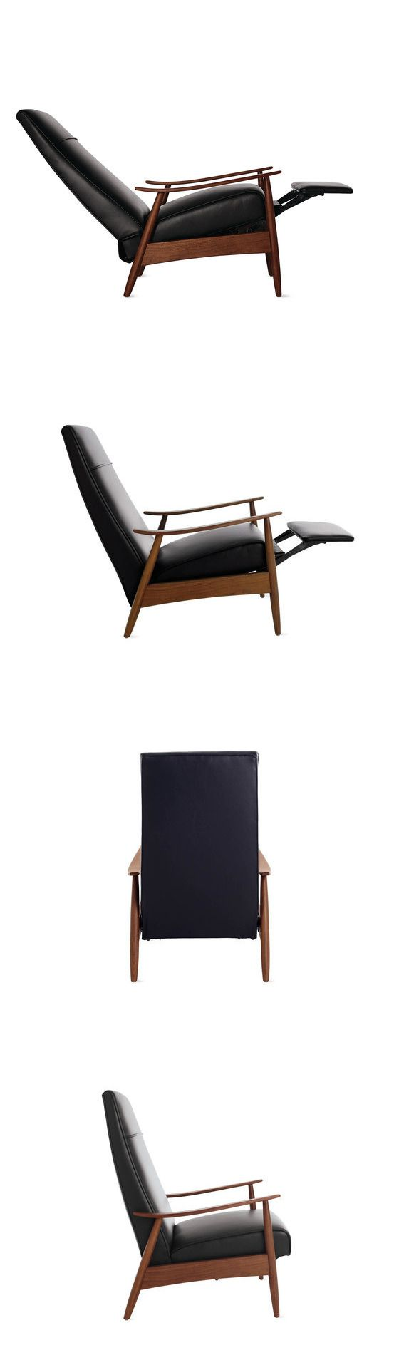 Saw this chair at DWR today. Fantastic. I'd really like to find a place for it in the MH.  Too expensive for casita. It's going on sale 3/2/16 for 15% off. I picked up leather samples and will send to you. Comes stock in black and the camel I pinned previously. I'm sending camel & bone samples.