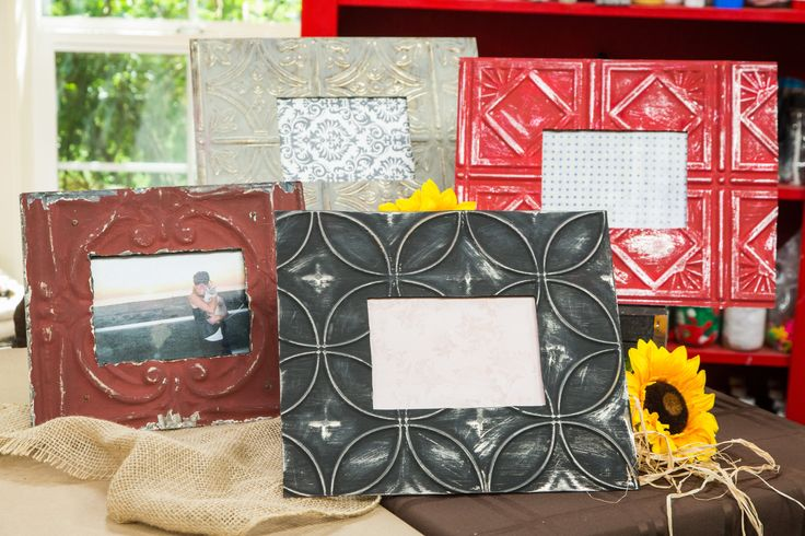 Create a metal picture frame for less than half the retail price!  @paigehemmis shows you how to make a DIY Metal #Picture Frame! For more great DIYs tune in to Home & Family weekdays at 10a/9c on Hallmark Channel!