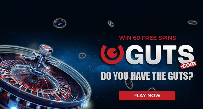 Play at Guts Casino our latest online casino games for fun or real money. Join Now and get your $300 in casino bonus and other fresh bonuses.