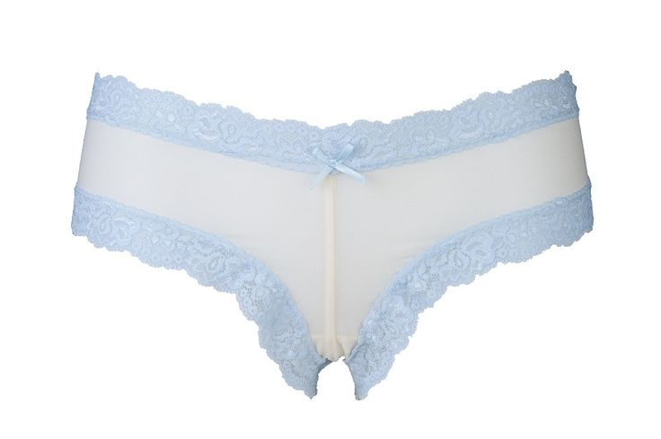 Blue Belle. £18. We'll make just 40 pairs of these. Is it your favourite of our bride Pants? Pin it along with the Original Pin and six moer Pants from our website and you could WIN a new Knicker drawer. See original pin for full instructions - winner will be picked from qualifying entries and announced on 16th April 2015.