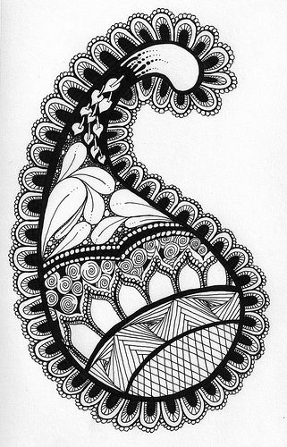 zentangle9 by firesong_42, via Flickr