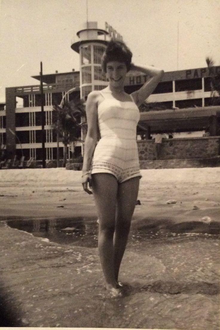 Hotel Papagayo en 1960 Playa Hornos