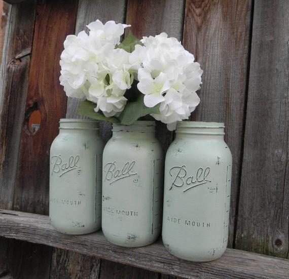 Sage Green Kitchen Storage Jars: 1000+ Ideas About Large Mason Jars On Pinterest