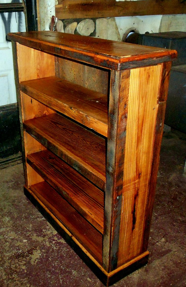 Barn Wood Shelves ~ Images about reclaimed barn wood shelving on