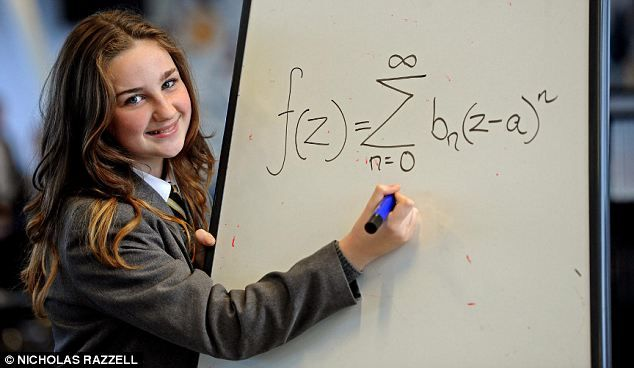 olivia manning, 12, from liverpool, has been accepted into mensa after scoring 162 on her iq test.