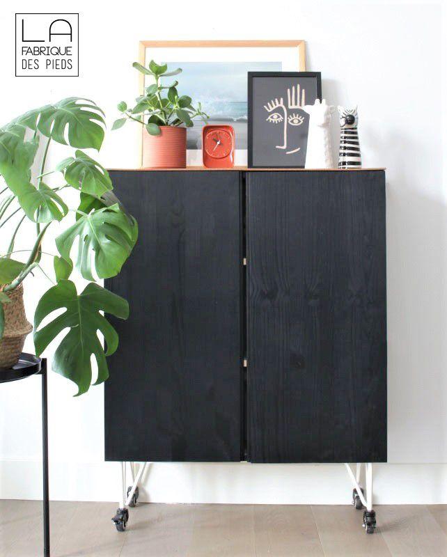 Pied De Table A Roulette 20 Cm La Fabrique Des Pieds En 2020 La Fabrique Des Pieds Ikea Idees De Decor