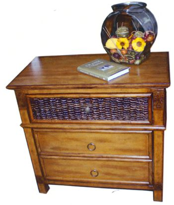 Beachwood Rattan Antique Bedroom Suite from Summit Design | Antique Wicker Bedroom Furniture | americanrattan.com