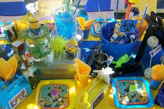 minions birthday party decoration ideas