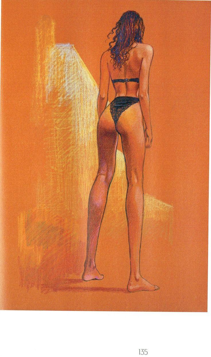 Milo Manara - Vol. 20, Il Pittore e la Modella-135 (La modella sotto il vestito)