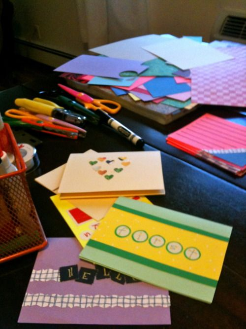 Host a card making party!