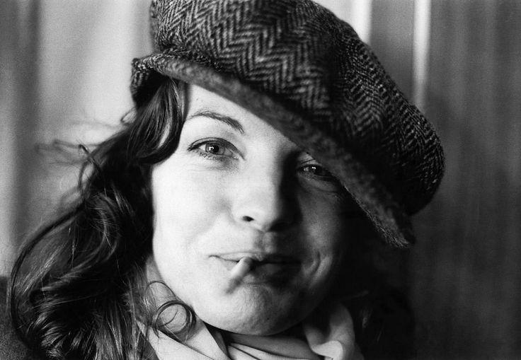Romy Schneider, Berlin, 1976.