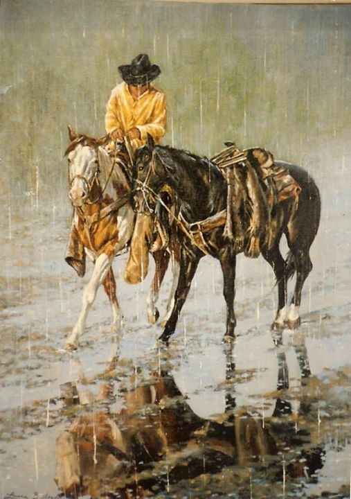 Laura Butler - great reflection  in puddle of rain ♥