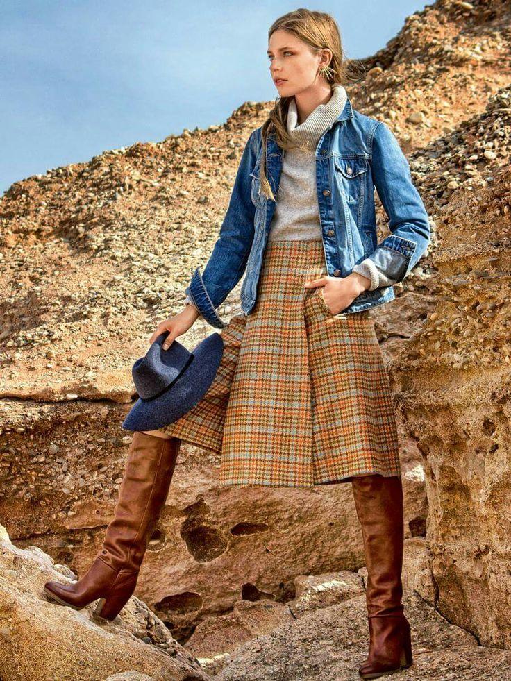 68 besten Outfits Bilder auf Pinterest | Vintage mode, Röcke und ...
