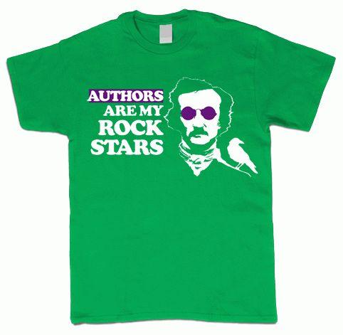 Authors Are My Rockstars T-Shirt