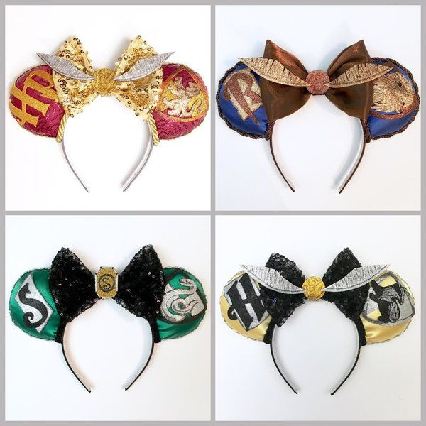 Harry Potter inspired Magic Mouse Ears