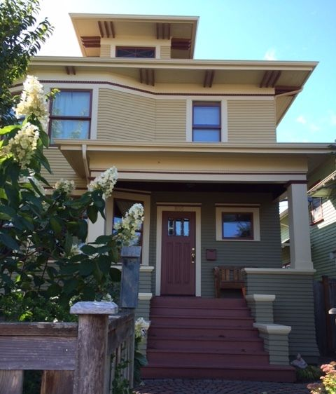 Arbor Homes: 283 Best Images About American Foursquare On Pinterest