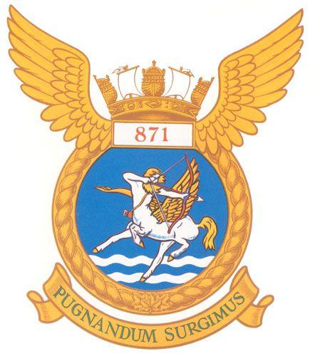 VF 871 Badge - The Canadian Navy - ReadyAyeReady.com