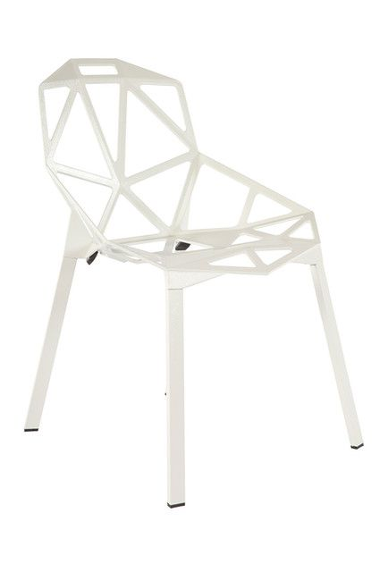 Geo White Chair