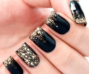 45 best nails xx images on pinterest nail polish art nail glitter nails tumblr prinsesfo Image collections
