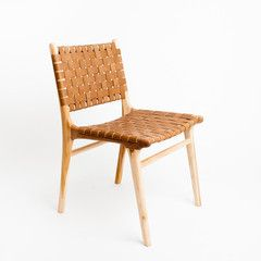 TANNER TAN DINING CHAIR