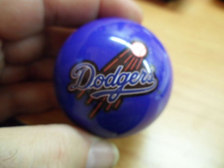 MLB Los Angeles Dodgers Pool Ball Knob Dillon Hornady RCBS Reloading Presses #RCBS