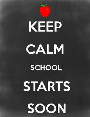 girlwifemom: Keep calm, school starts soon...
