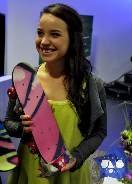 sara catellanos  mini skateboard primer encargo para g12 media