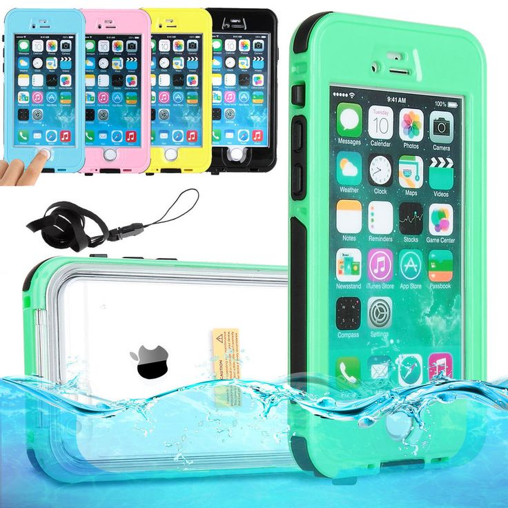 WATERPROOF SHOCKPROOF DIRT PROOF CASE COVER FOR APPLE IPHONE 6,7 & PLUS GREEN US #Casemania